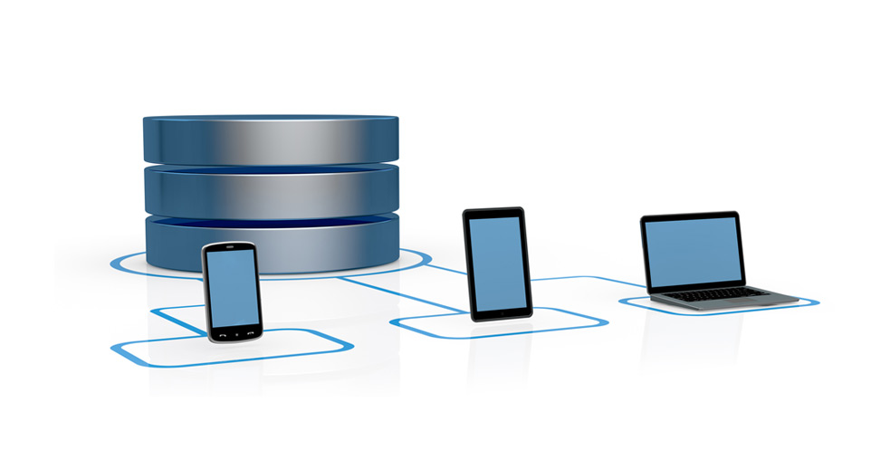 online-backup-samlingsbild